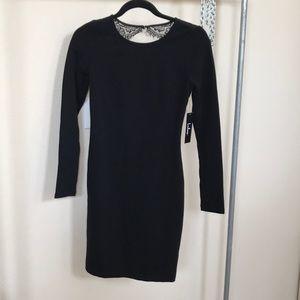 2x$20 Lulus black bodycon formal dress xs